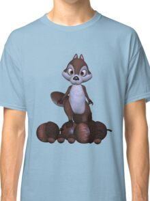 Nutty .. cute squirral Classic T-Shirt