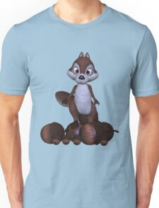 Nutty .. cute squirral Unisex T-Shirt
