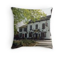 The Plough Inn Throw Pillow