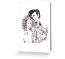 Dr Who and Song Greeting Card