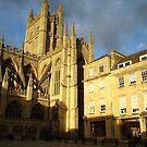 Bath Abbey by Kimberly  Daigle