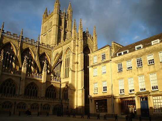 Bath Abbey by Kimberly  Daigle