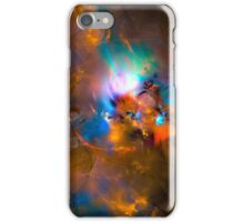 Hanging in the balance of reality - Colorful Digital Abstract Art  iPhone Case/Skin