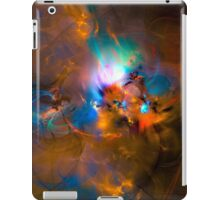 Hanging in the balance of reality - Colorful Digital Abstract Art  iPad Case/Skin