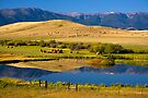 Montana Ranchland. USA. by PhotosEcosse