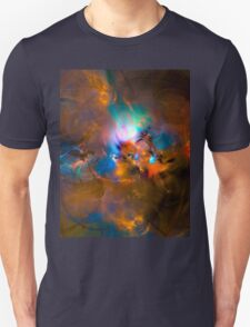 Hanging in the balance of reality - Colorful Digital Abstract Art  T-Shirt