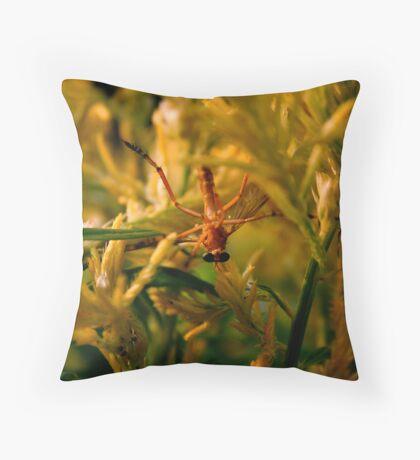 sneak attack Throw Pillow