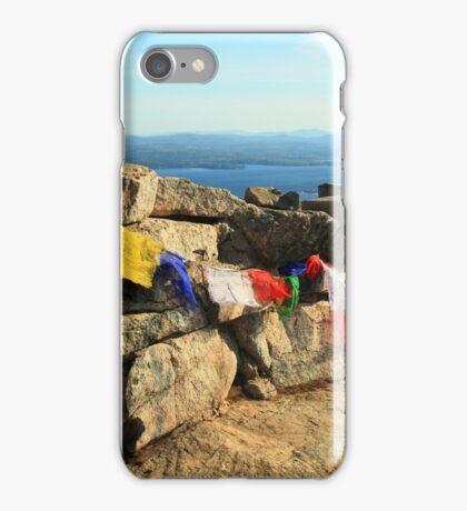 Prayer Flags on Mount Major iPhone Case/Skin