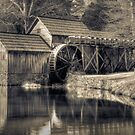 Mabry Mill, VA by Harry H Hicklin