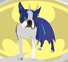 Batdog - Boston Terrier by DougPop