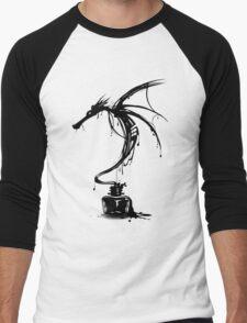 Dragon Ink Men's Baseball ¾ T-Shirt