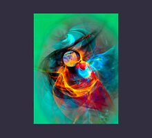 Hummingbird- Colorful Digital Abstract Art  Unisex T-Shirt
