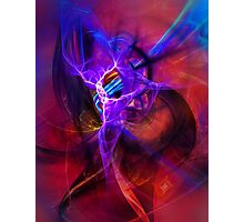 Icarus- Colorful Digital Abstract Art Photographic Print