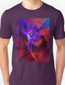 Icarus- Colorful Digital Abstract Art T-Shirt