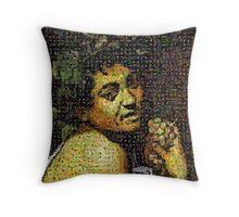 Caravaggio - Bacchino malato Throw Pillow