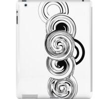 Black and white Retro shape iPad Case/Skin