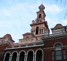 Sevier County Courthouse, Circa 1895 by raindancerwoman