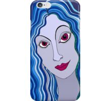 Flirty girl iPhone Case/Skin