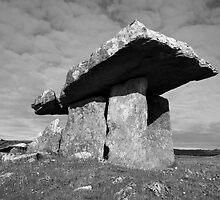 Poulnabrone Dolmen  by John Quinn