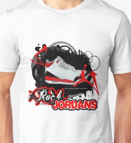 iRock Jordans Unisex T-Shirt