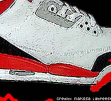 iRock Jordans Sticker