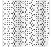 Rings Pattern Design Poster