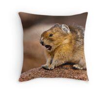 Stretch & Yawn Throw Pillow