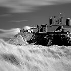 Bamburgh Castle (IR) by Paul McGuire