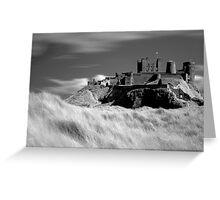 Bamburgh Castle (IR) Greeting Card