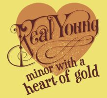 Real Young Minor with a Heart of Gold by lilterra.com One Piece - Short Sleeve