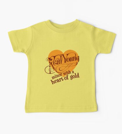 Real Young Minor with a Heart of Gold by lilterra.com Baby Tee