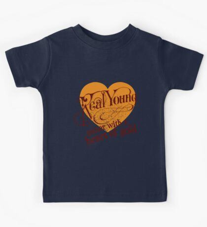 Real Young Minor with a Heart of Gold by lilterra.com Kids Tee