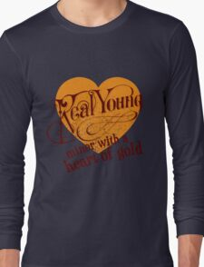 Real Young Minor with a Heart of Gold by lilterra.com Long Sleeve T-Shirt