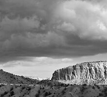 New Mexico Light Show III:  Ghost Ranch at Abiquiu by TheBlindHog