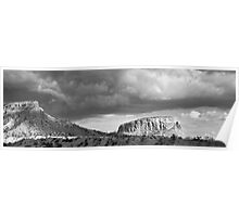 New Mexico Light Show III:  Ghost Ranch at Abiquiu Poster