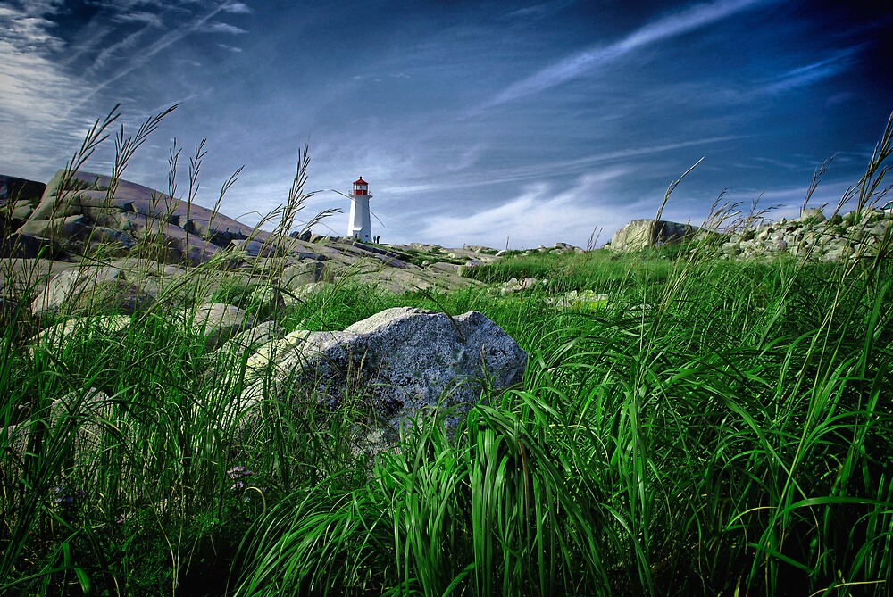 Peggy's Cove Lighthouse by Spencer Dove