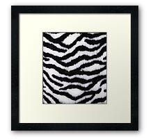 White Tiger A Framed Print