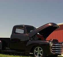 1950 Chevrolet 3100 Pickup With Custom Paint by TeeMack