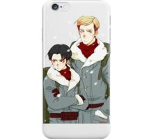 [SnK] Levi and Erwin Phone Case iPhone Case/Skin