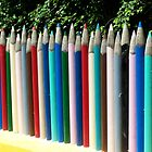 Giant Pencils by Richard Nelson