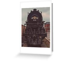 Portrait of Engine 1518 Greeting Card