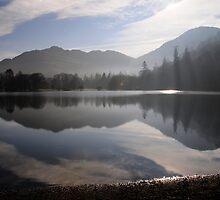 Ullswater Mist by Simon Hathaway