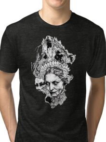 Old witch Tri-blend T-Shirt