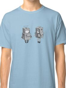 we can be robots b/w Classic T-Shirt