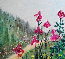 The Iris  by rokinronda