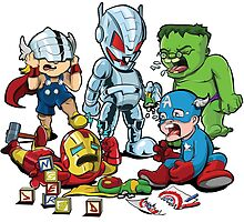 Avenger Babies: Nursery Age of Ultron by Aaron Morales