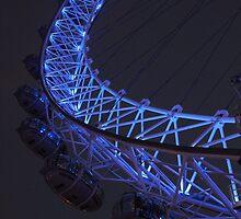 London Eye at Night by karina5