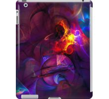 In another life- colorful digital abstract art  iPad Case/Skin