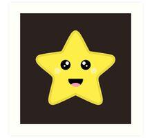 Kawaii Star Art Print