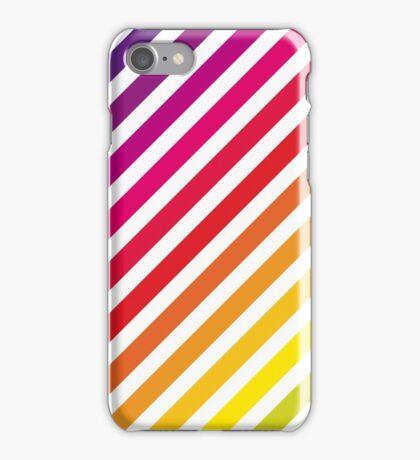 Rainbow stripey thing iPhone Case/Skin